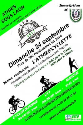 Athies cyclette 2017